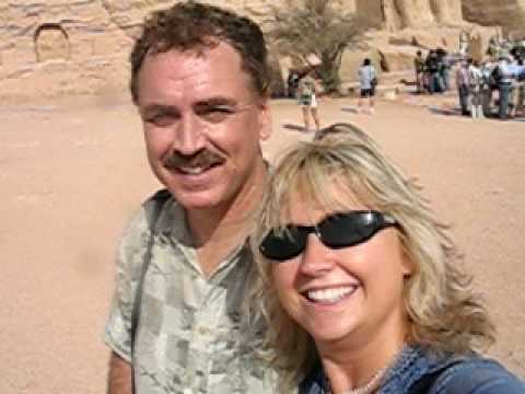 Jacqueline and Stephen in Aswan, Egypt
