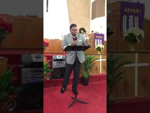 "Preston Brown Sermon ""Why They Sought Jesus"""