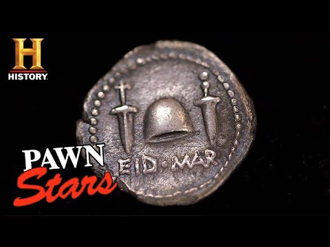 "Pawn Stars: ""Ides of March"" Denarius Coin (Season 15) 