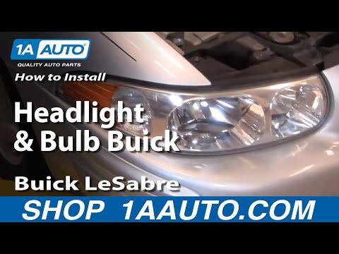 Replacing Headlight Bulb 2005 Buick Lacrosse