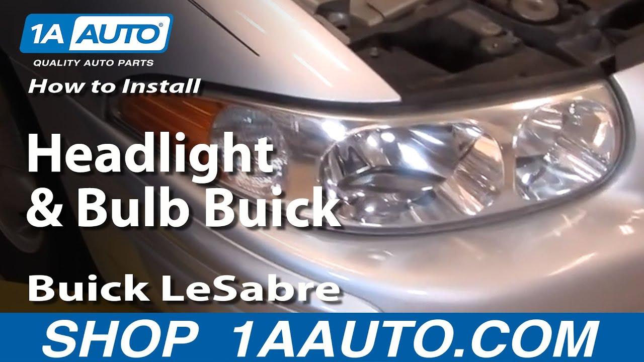 2007 Buick Lacrosse Headlight Wiring Archive Of Automotive Fuse Diagram Images Gallery How To Install Replace And Bulb Lesabre 00 05 1aauto Rh Youtube Com