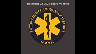 December 22nd, 2020-PCAD Board…