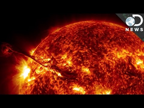 The Amazing 4K Footage Of Our Sun Explained