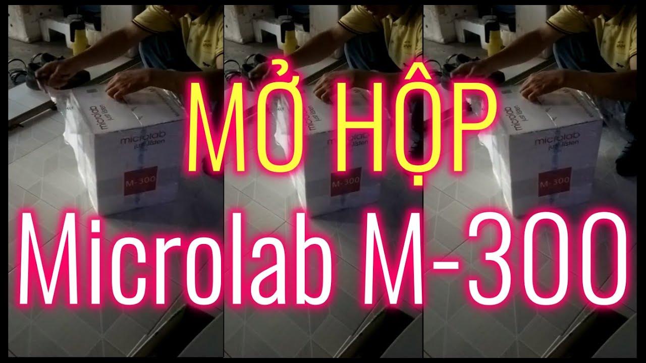 Mở hộp LOA VI TÍNH MICROLAB M-300 (Mua trên TIKI.VN) by MƯỜI KHÓ