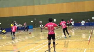 複式公開男子組(初) 乘翔體育會 對 陳震夏中學 2015年