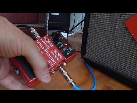 Boss RC 3 Loop Station Demonstration