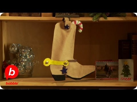 0922be1061b Toy Story Sheriff Woody Christmas Boot Stocking | Crafts | Babble