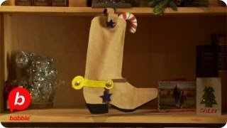 Toy Story Sheriff Woody Christmas Boot Stocking | Crafts | Babble