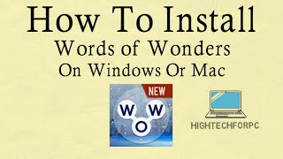 Download lagu How To Play Words of Wonders on PC - Windows and Mac Installation Guide