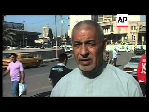 Iraqis react to formation of new government