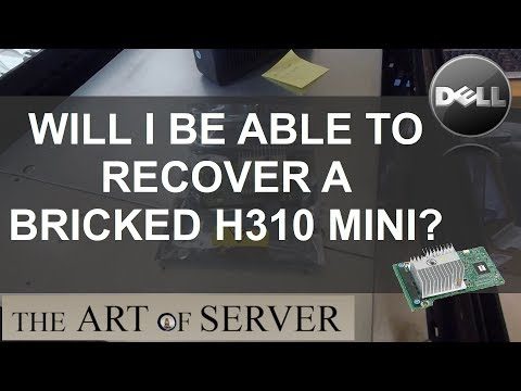 Will I be able to recover a bricked H310 mini? - YouTube
