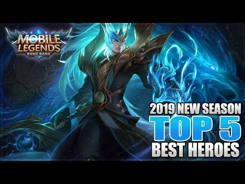 2019 TOP 5 BEST HEROES IN MOBILE LEGENDS BEFORE ESMERALDA