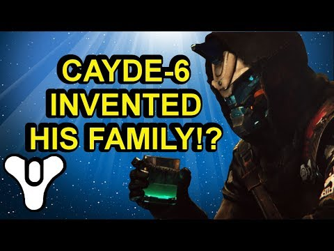 Cayde-6 invented his family? Destiny 2 lore Forsaken | Myelin Games