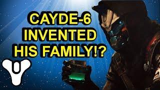 Cayde-6 invented his family? Destiny 2 lore Forsaken | Myelin Games