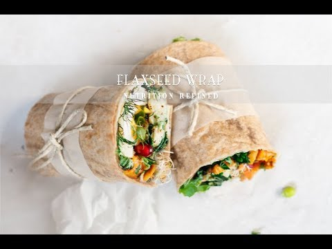 Flaxseed Wraps (with real-time footage) | 1 Ingredient, Vegan, Paleo, Keto