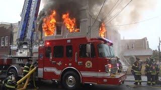 Garfield,Nj Fire Department 3rd Alarm  10/25/15
