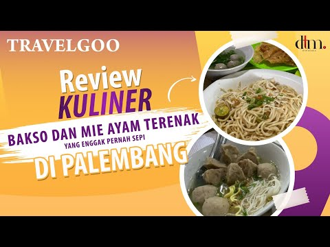 Bakso Dan Mie Ayam Terenak Ll Ngak Pernah Sepi Ll Di Palembang