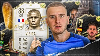 FIFA 21: Mr. Most Wanted VIEIRA 88 BUY FIRST TOTW🔥🔥IAMTABAK vs FEELFIFA😱