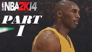 NBA 2K14 - Gameplay Walkthrough - My GM Mode - Season/Franchise - Part 1 - Kobe!!!