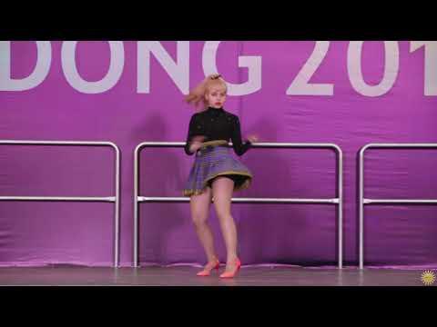 Mary Min  с кавером « NO » (CLC) (K-pop Cover (SOLO)) - Idong 2019