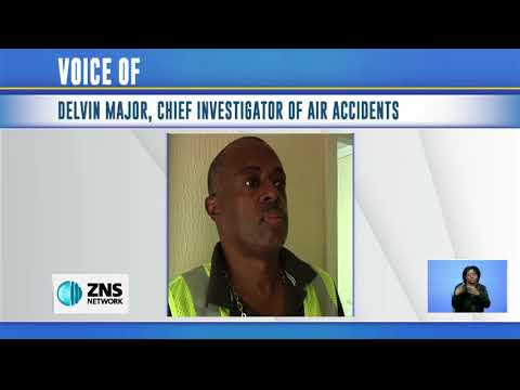 CRASH INVESTIGATOR ON SOUTH ANDROS PLANE CRASH