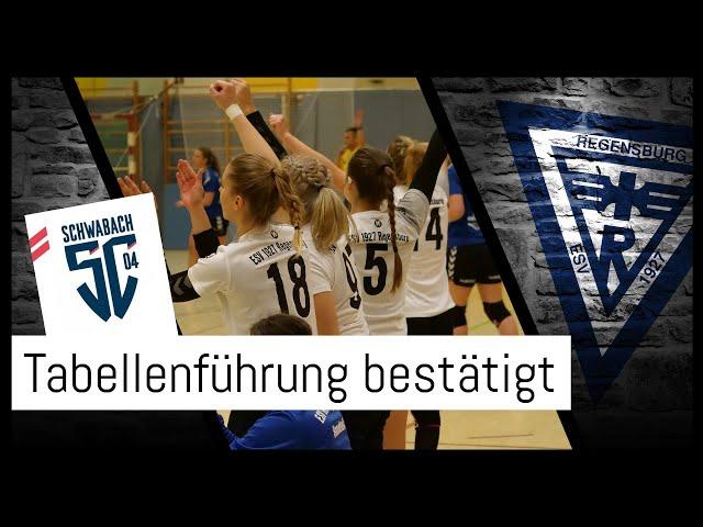 Sieg gegen SC 04 Schwabach - ESV weiter an der Spitze!