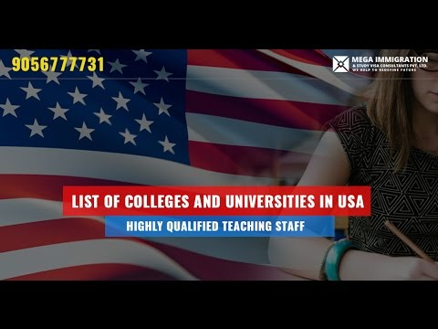 List of Colleges in USA for International Students   Top universities in United States