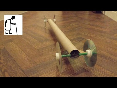 Let's make a rubber band powered car #9