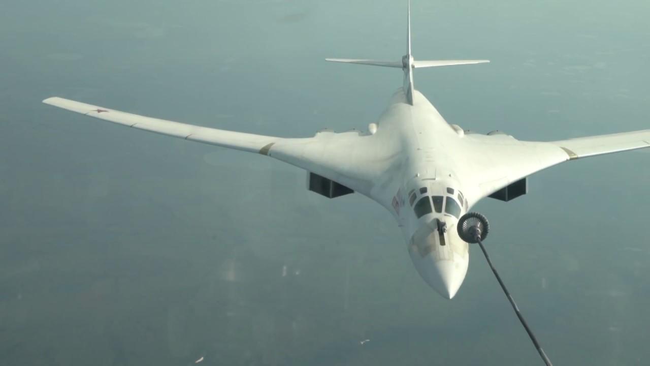תידלוק מפציץ רוסי באוויר