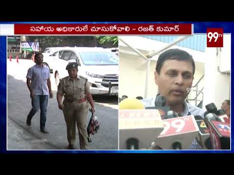 EC CEO Rajat Kumar about EVMs and Security for Telangana Election   99TV