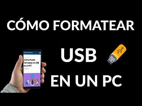 Cómo Formatear un USB en PC Windows o Linux