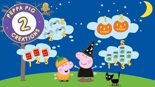 Peppa Pig Creations - Halloween Activities With Peppa Pig And Mandy Mouse! #PeppaPig