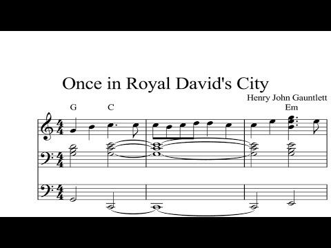 Once in Royal David's City: CHRISTMAS SHEET MUSIC Piano Organ & Keyboard Book 2