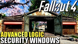 FALLOUT 4 Logic Gate Security Tutorial - Settlement Defense Ideas