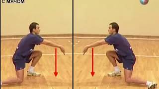 Уроки волейбола  Прием снизу