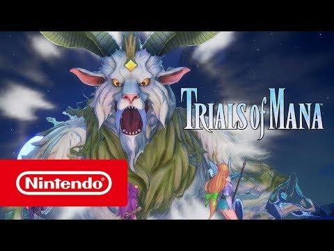 ▷ Nintendo Trials Of Mana - Trailer (Nintendo Switch