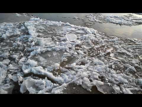 Лёд на Неве. 15.01.2018. Ice on Neva river
