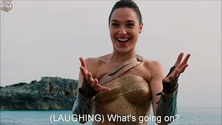 Bloopers \u0026 Gag Reel 'Wonder Woman' Featurette