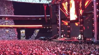 Ed Sheeran Bloodstream live at Wembley Stadium10/07/15