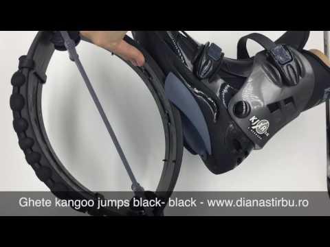 Ghete kangoo jumps black black