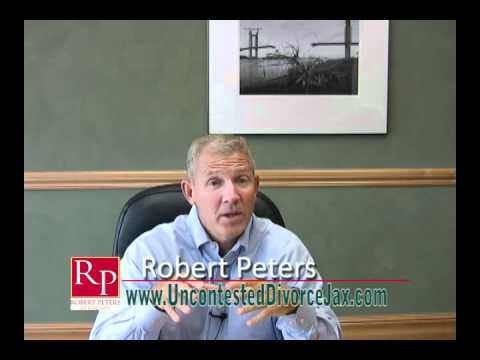 Why Robert Peters for your Uncontested Florida Divorce?