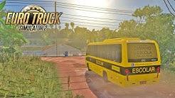ônibus escolar ao extremo Passando pelos ATOLEIROS!