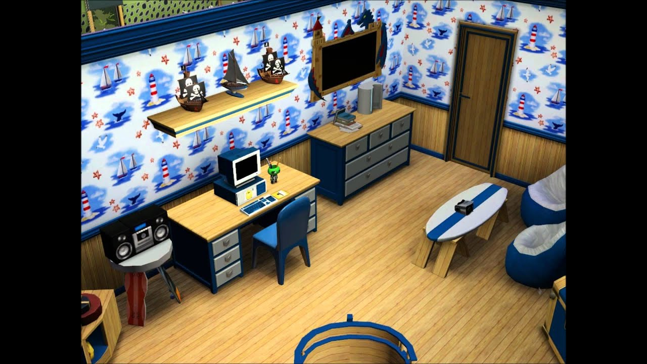 sims 3 familienvilla einrichtungsideen youtube. Black Bedroom Furniture Sets. Home Design Ideas