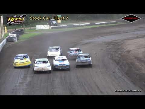 Stock Car Heats - Rapid Speedway - 6/29/18