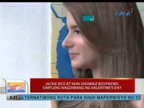 Download UB: Jackie Rice at non-showbiz boyfriend, simpleng nagdiwang ng Valentine's Day