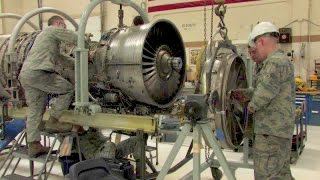 F-16 Jet Engine Shop - Foreign Object Damage Repair(, 2015-04-16T04:00:00.000Z)
