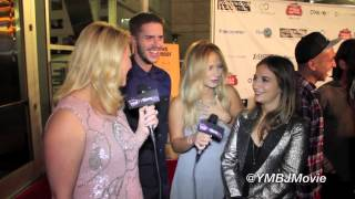 Vanessa Ray, Jake Wilson, Sas Goldberg, YOU MUST BE JOKING, Hollywood Film Festival