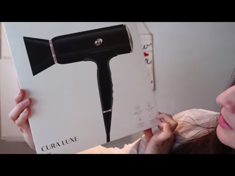 T3 Cura Luxe The most EXPENSIVE and NOT SO Quiet Hair Dryer T3 micro Cura Luxe hair dryer