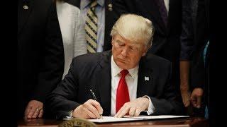 President Trump signs Veterans Affairs bill