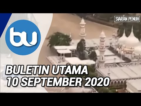 Buletin Utama TV3 Jam 8 Malam (10September 2020)